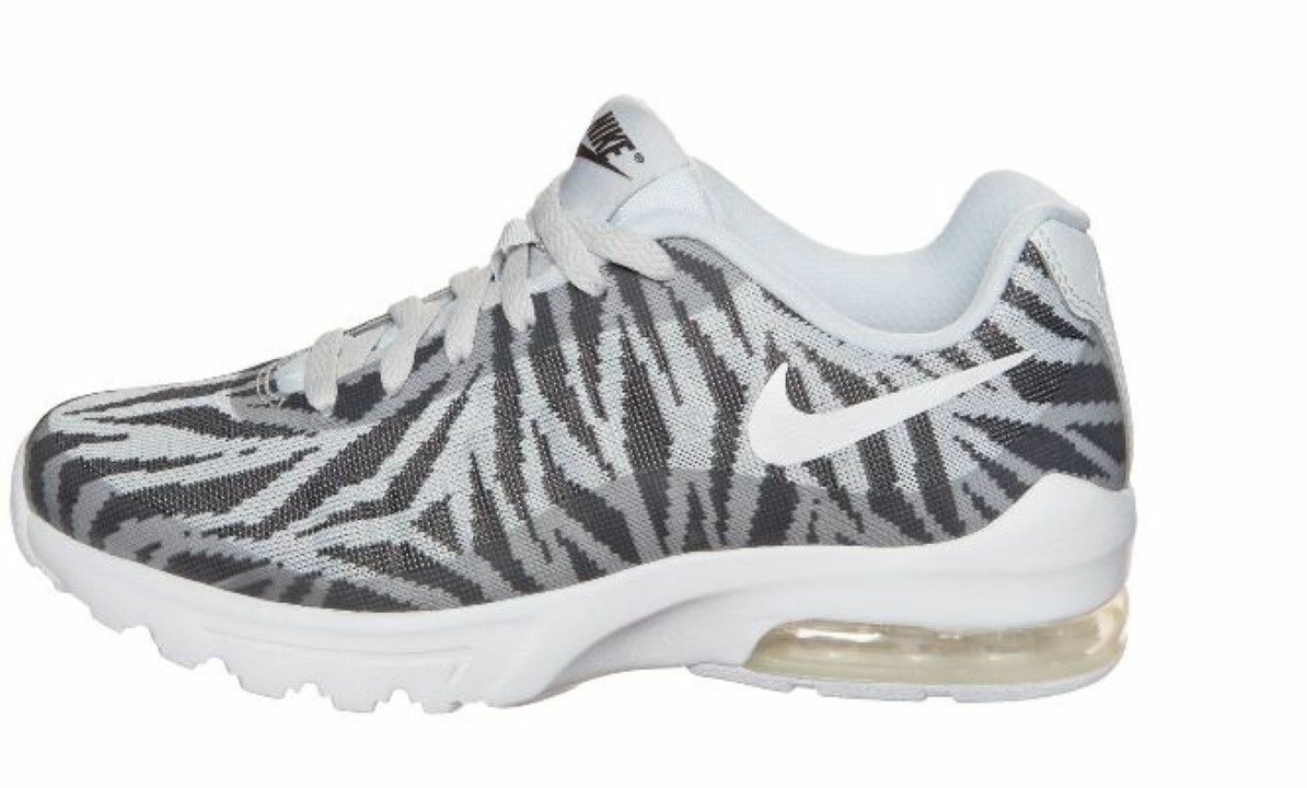 NIKE Damenschuhe AIR MAX INVIGOR KJCRD UK 7 WEISS / GREY BNIB 833659 – 010