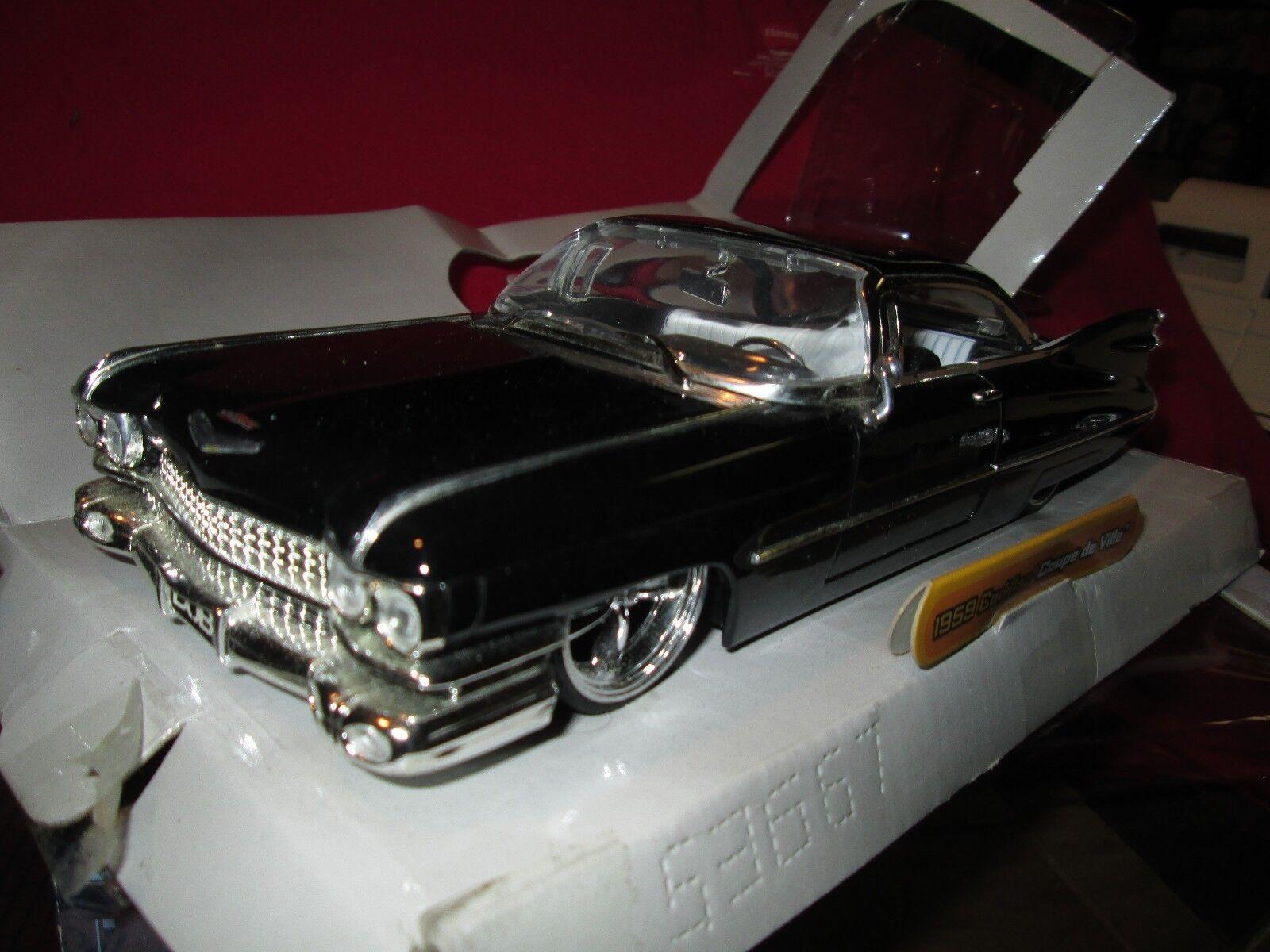 1959 Dub City 59 Cadillac Coupé de Ville Personnalisé Jada 1 24