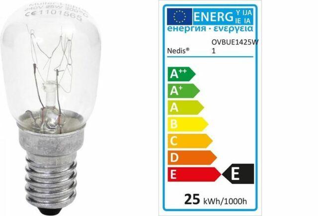 Müller-Licht AGL Backofenlampe 25W E14 170lm 2400K DIM 300° C