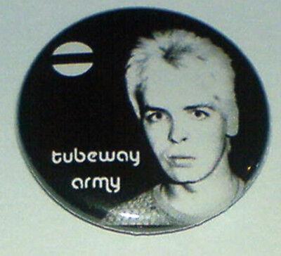 Tubeway Army 25mm Pin Badge TA1 Gary Numan