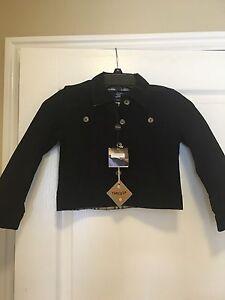 Burberry Kids Size 6 Jean Black Jacket