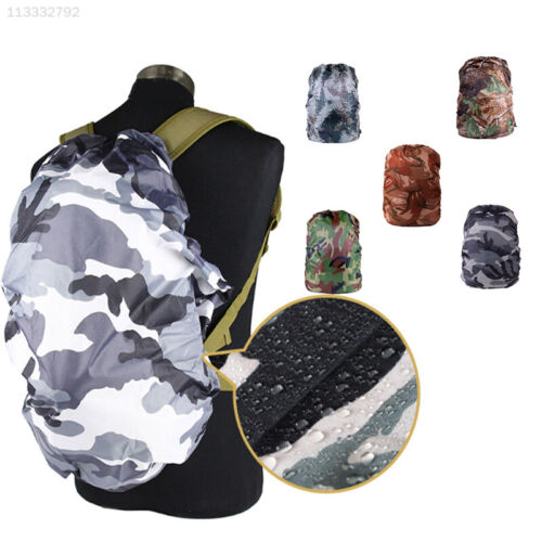 08EE Outdoor Waterproof Backpack Camouflage Anti Dust Rain Cover Hiking