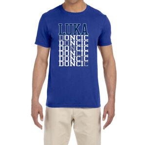 Image is loading Dallas-Mavericks-Luka-Doncic-Text-T-Shirt 82c575a76