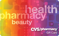 $100 CVS Gift Card For Only $90