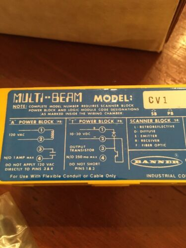 BANNER ENGINEERING SB-CV1 Multi-Beam **NEW**