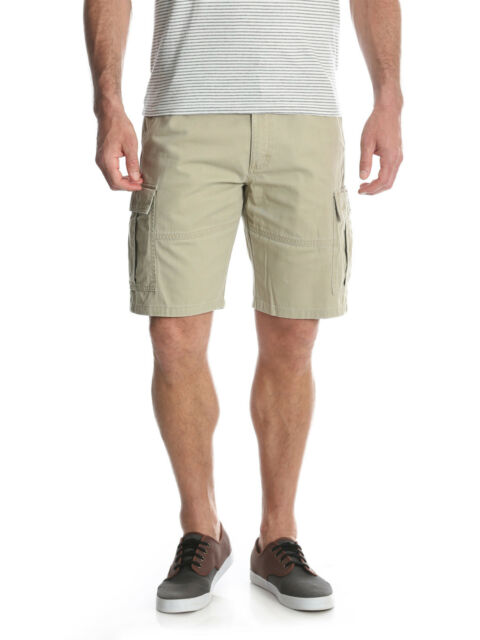choose best lovely design various styles NEW Mens Wrangler Twill Rleaxed Fit Cargo Shorts With Tech Pocket