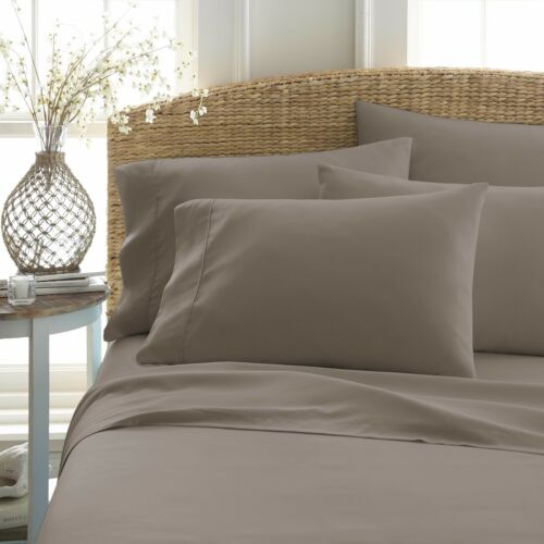 All-Season Hypoallergenic Home Collection Ultra Soft Cozy 6 Piece Bed Sheet Set