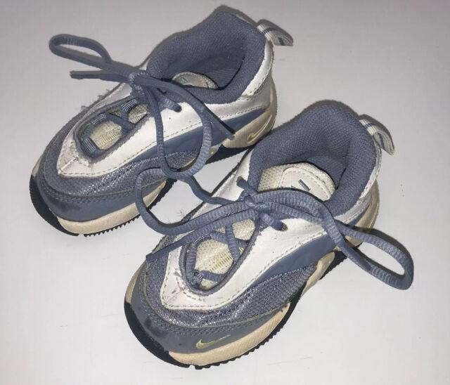 Nike Infant Tennis Shoe Sneaker Boys Size 5 Light Blue ...