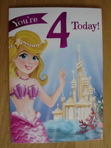 Girls Age birthday cards ~ 3rd 4th 5th 6th 7th 8th 9th teenager birthday cards