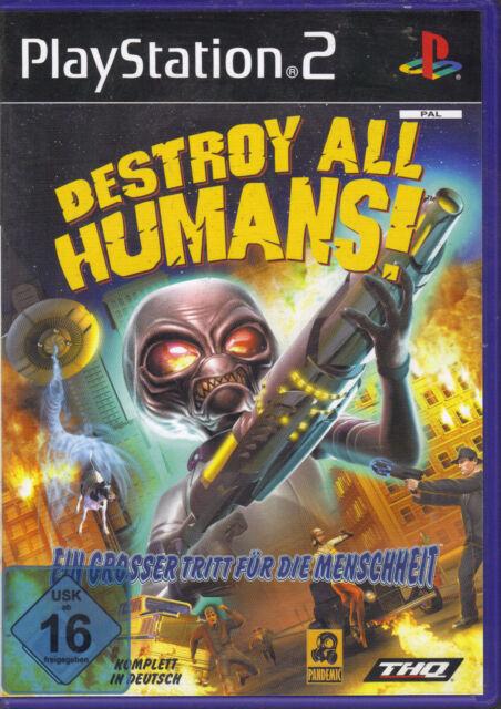 Destroy all Humans! (Playstation 2)