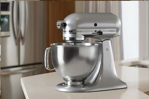 Genial Image Is Loading KitchenAid Stand Mixer Tilt 5 Quart Rk150mc Metallic