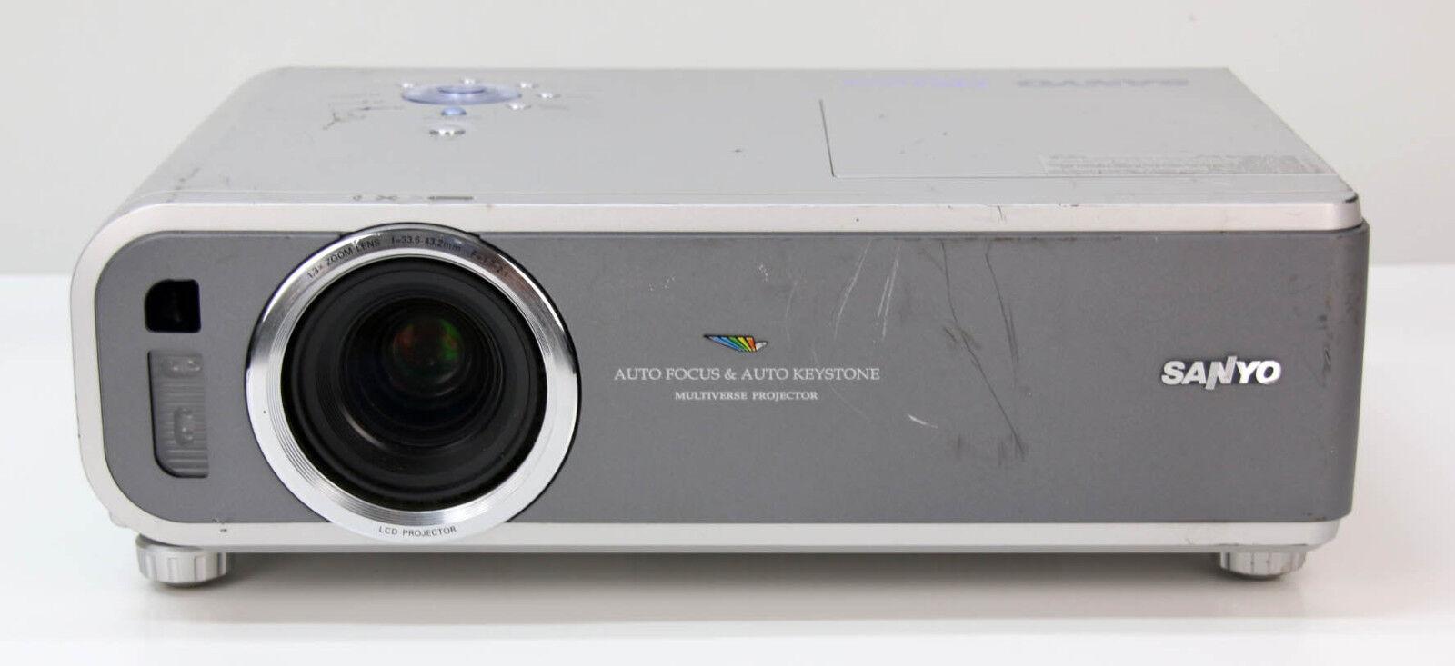 SANYO PLC-XC10 Beamer   Multiverse Projector an Bastler (S64) Videoprojektor