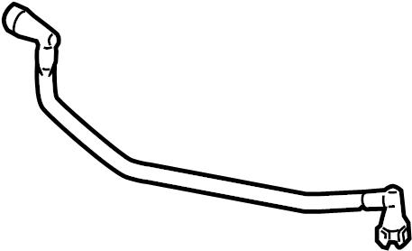 FORD OEM Emission-Connector Tube 3L3Z6758BA
