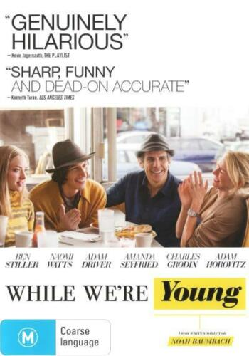 1 of 1 - While We're Young  - DVD - NEW Region 4