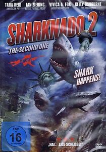 DVD-NEU-OVP-Sharknado-2-The-Second-One-Tara-Reid-amp-Ian-Ziering-Uncut