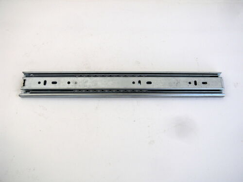 14 Inch 100 Pound Capacity Full Extension Drawer Slides Side Mount Ball Bearing