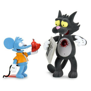 RARE Kidrobot The Simpsons Itchy and Scratchy Exclusive