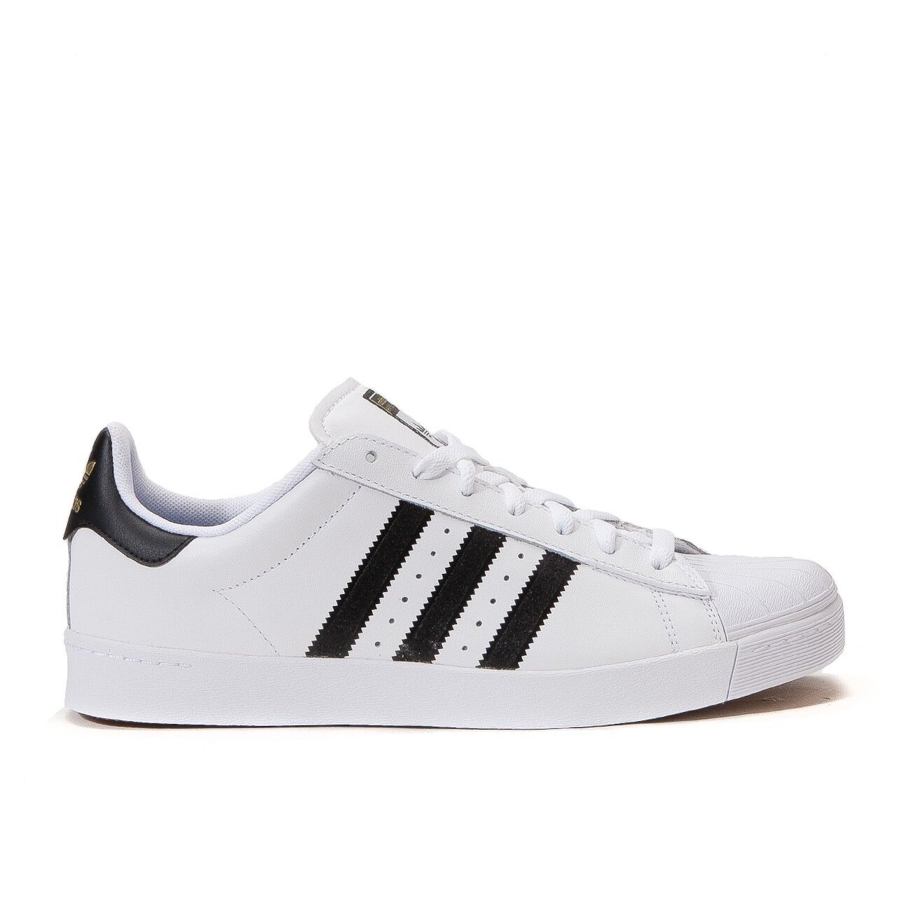 Adidas Superstar Vulc ADV White/Black Mens Shoes D68718 Brand discount