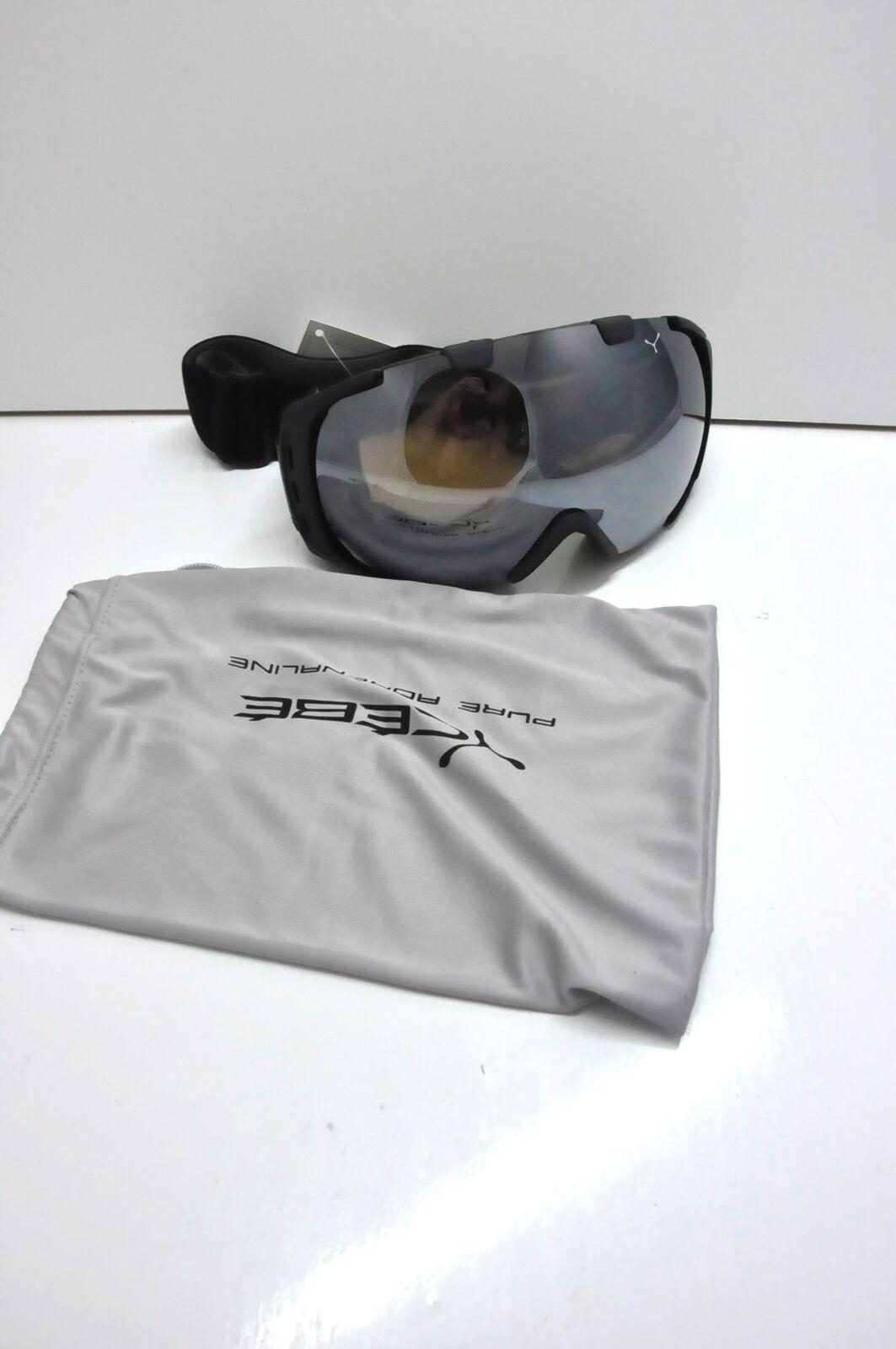 Cébé  Skibrille Origins schwarz braun Flash Mirror M CBG37