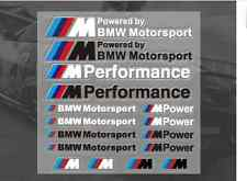 FOR BMW M POWER SPORT PERFORMANCE TECH PACK DECAL STICKERS BADGE LOGO M3 M5 M6