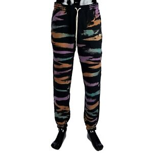 CELINE 770$ Trackpants In Multi Color Cotton With Embroidered Logo