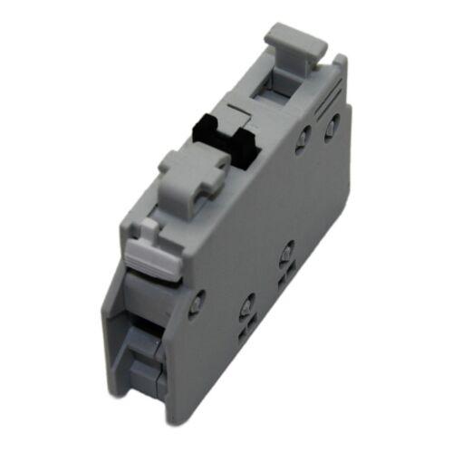 Contactos auxiliares BCLF 01 contactos NC eléctrico de montaje frontal GENERAL