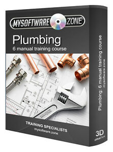 Learn-Plumbing-6-Manual-Training-Course-on-CD-Pipe-Fitting-Plumber-Study-Book-PC