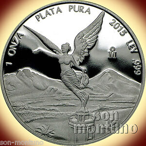 2015-Mexico-1-OZ-SILVER-LIBERTAD-PROOF-999-Bullion-Coin-SEALED-IN-MINT-CAPSULE