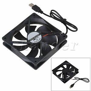 120mm DC 5V USB PC Computer Heatsink Case Cooler Silent Cooling Fan 2400rpm