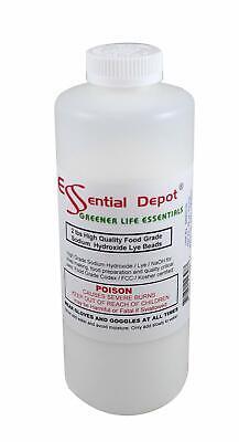 Pure Lye Drain Cleaner Opener 2 Lbs Food Grade Sodium