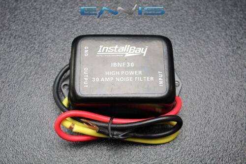 1 NOISE FILTER 30 AMPS 12V HUM FILTER NOISE ENGINE SUPPRESSOR WIRE IBNF30