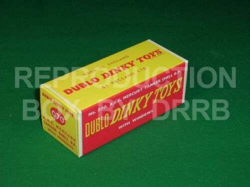 Dinky # 070 Dublo Dinky a.E.C Mercurio petrolero-Caja de reproducción por drrb