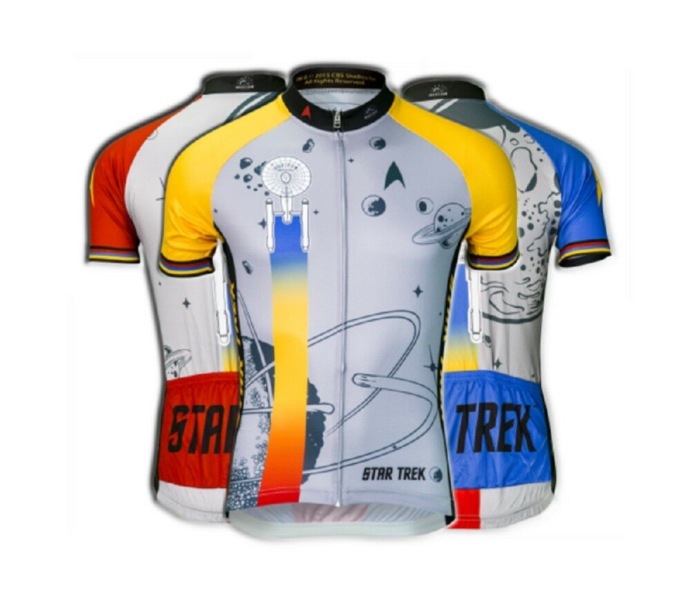 Brainstorm Gear Men's Star Trek  Final Frontier  Cycling Jersey