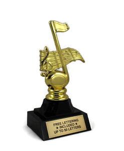 Music-Trophy-Karaoke-Band-Dance-Oldies-Desktop-Series-Free-Lettering