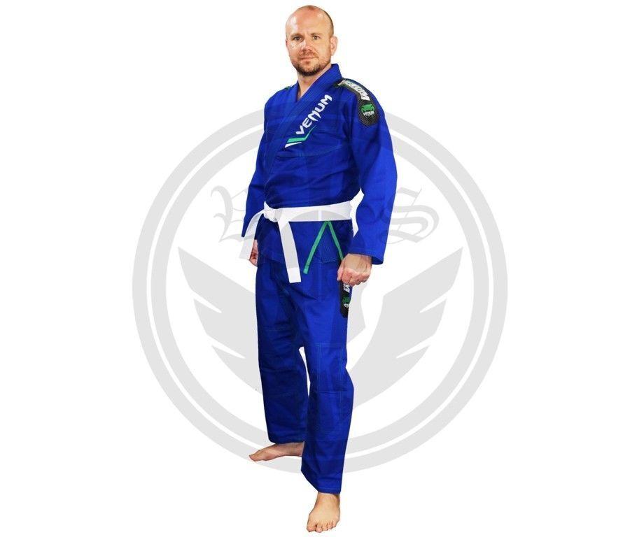 Azul Venum Jujitsu Gi Bjj Brasileño Artes Marciales Kimono Juditsu Trajes