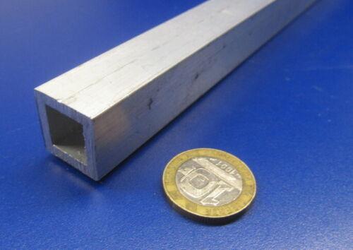 """6063 T6 Aluminum Square Tube  3//4/"""" Square x 1//8/"""" Wall x 72/"""""""