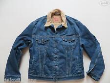 Levi's® Jacke Jeansjacke mit Teddy Fell Gr. XL TOP ! Blue Denim warm gefüttert !