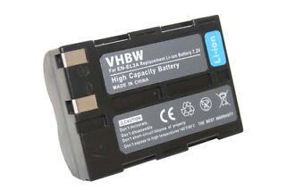 2x Batteria Blumax 7,4V 1400mAh per Nikon EN-EL3e