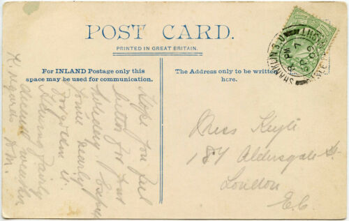 GB ISLE of WIGHT EARLY POSTCARDS POSTMARKS 1903-1916 PPCs