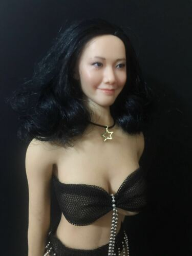 """1//6 Women/'s Gold Star Necklace Model For 12/"""" Female Action Figure Doll Toy"""