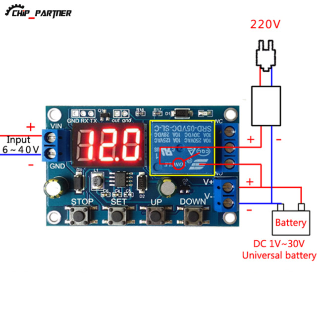 300PCS Battery Charger Discharger Board Under Voltage Protection Module