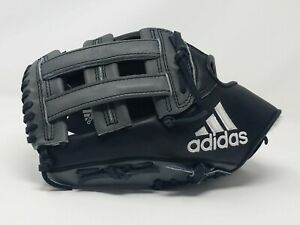 "New Adidas EQT Baseball Glove H-Web LHT 12.75"" Outfielder Black AZ9151"