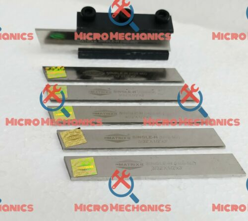 3//32 x 1//2 x 3 Blade 6x Lathe Clamp Type Parting Cut Off Tool Holder 8mm Shank