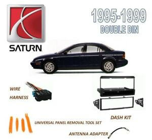 s l300 new 1995 1999 saturn s series car stereo install dash kit, wire 1999 Saturn SL2 at nearapp.co