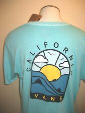 22df44e2fc894d Vans Shoes Mens SS Cali Hills Tee Shirt Aqua Green size XXL Vintage Wash NWT