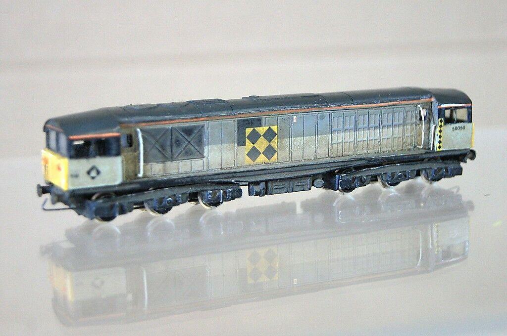 Graham Farish P D Marsh Kit Costruito Br Treno Merci classee 58 Diesel 58050 Mz