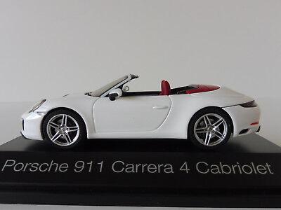 PORSCHE 911 991 II Carrera S Coupe agata grigio metallizzato 1:43 Herpa