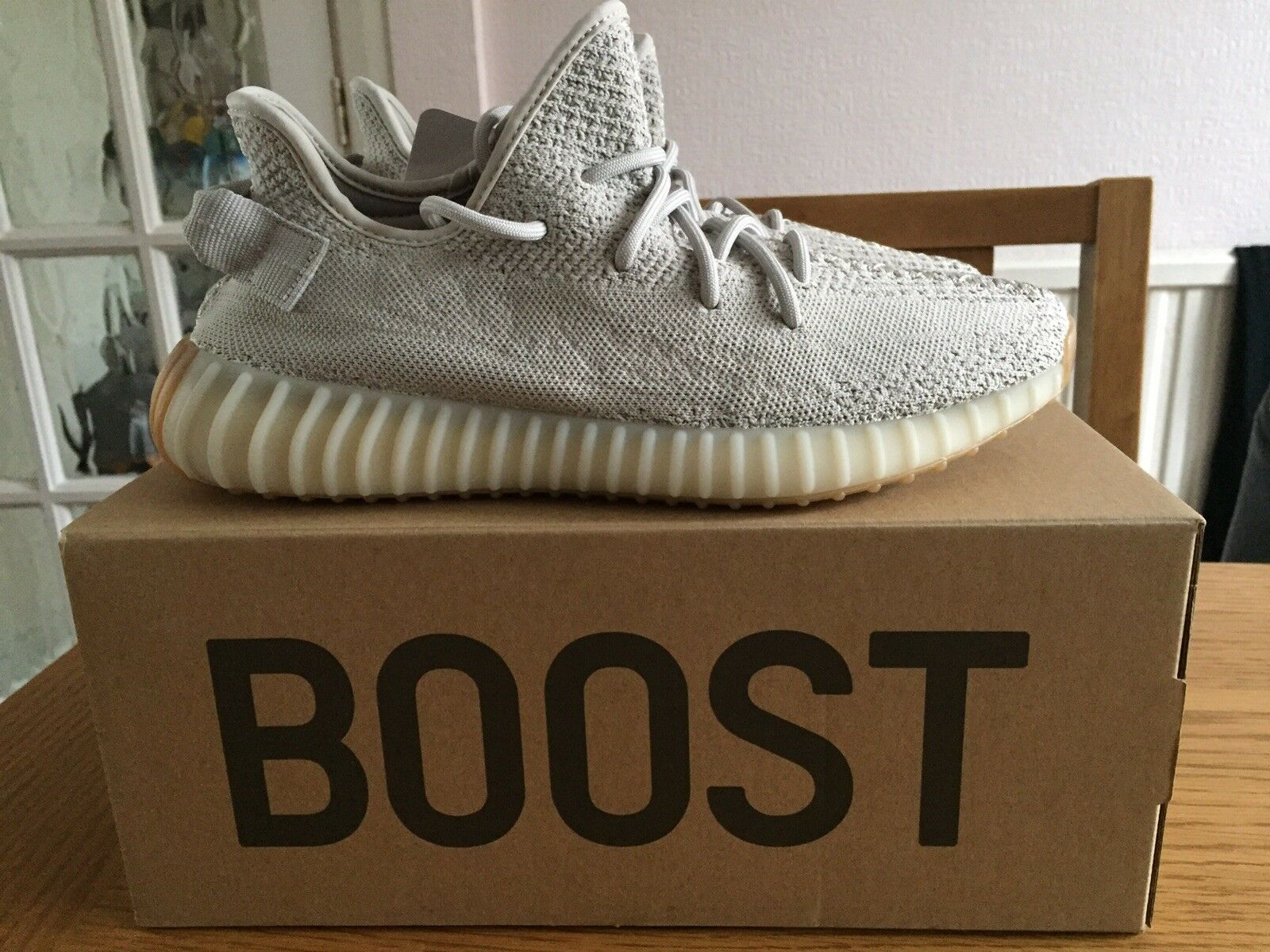 New Adidas Yeezy Boost 350 V2 Sesame US 8.5 Ultra Receipt included