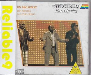 Drifters-On-Broadway-CD-16-classic-great-1988-Spectrum-Made-in-the-UK