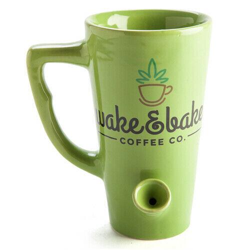 Wake and Bake Coffee Mug FREE Global Shipping